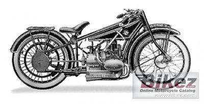 1926 BMW R37