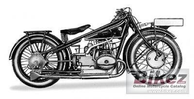 1929 BMW R57