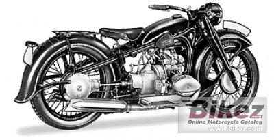 1936 BMW R17