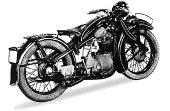 1937 BMW R4 Series 5