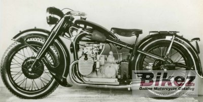 1937 BMW R12 Twin carb