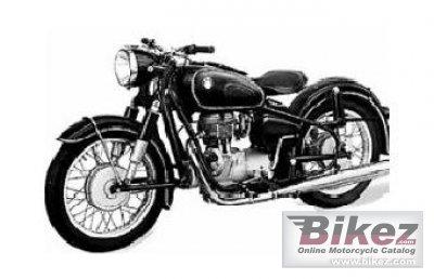 1950 BMW R24