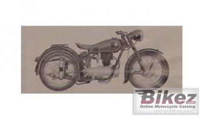 1953 BMW R25 3