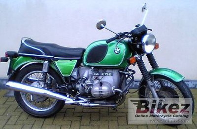 1975 bmw r 75 6 specifications and pictures. Black Bedroom Furniture Sets. Home Design Ideas