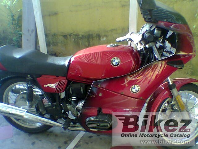 BMW R 45 (reduced effect)