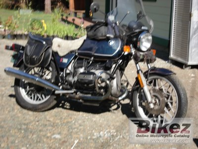 1981 bmw r 100 specifications and pictures
