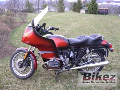 1983 BMW R 100 RT specifications and pictures