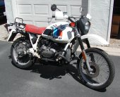 1984 BMW R 80 G/S Paris-Dakar