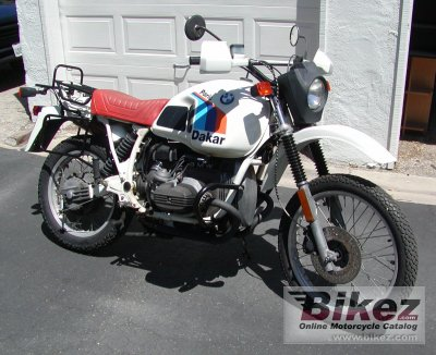 1984 bmw r 80 gs paris-dakar specifications and pictures