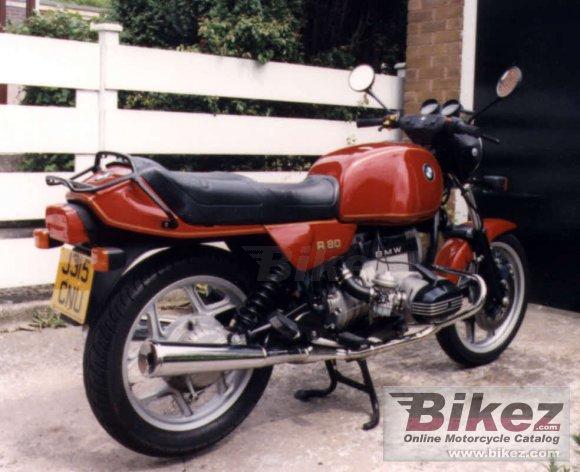1985 BMW R80