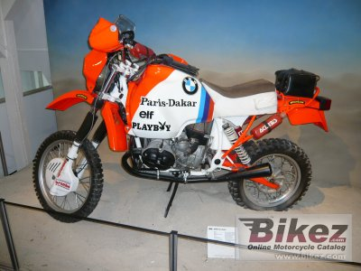 1985 Bmw R 80 G S Paris Dakar Specifications And Pictures