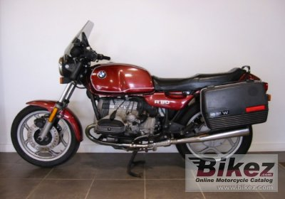 1985 Bmw R80 Specifications And Pictures