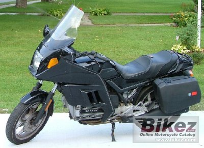 1987 bmw k 100 rt specifications and pictures. Black Bedroom Furniture Sets. Home Design Ideas