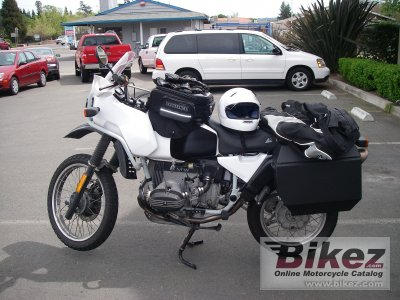 1991 bmw r 100 gs specifications and pictures
