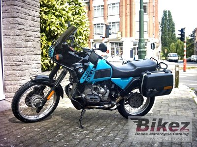 1992 Bmw R 100 Gs Paris Dakar Specifications And Pictures