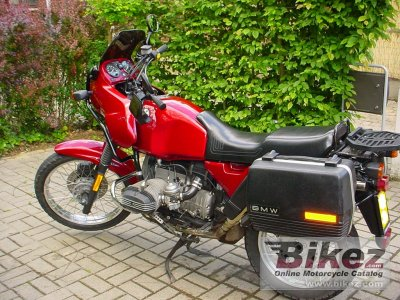 1993 BMW R 80 GS photo