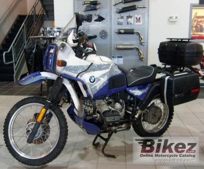 1993 bmw r 100 gs specifications and pictures