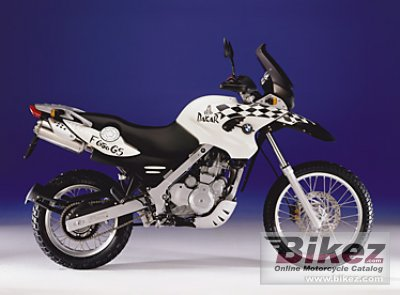 2001 bmw f 650 gs dakar specifications and pictures