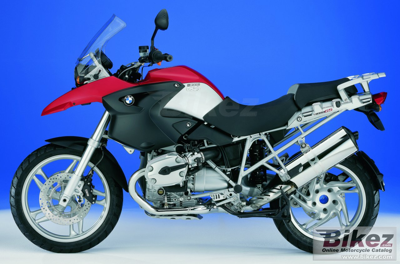 Big BMW r 1200 gs picture and wallpaper from Bikez.com