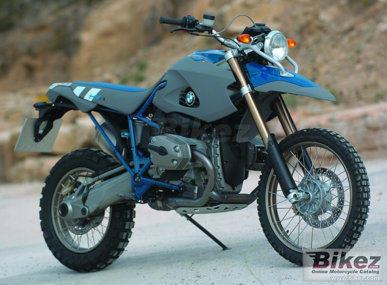 Big BMW hp2 enduro picture and wallpaper from Bikez.com