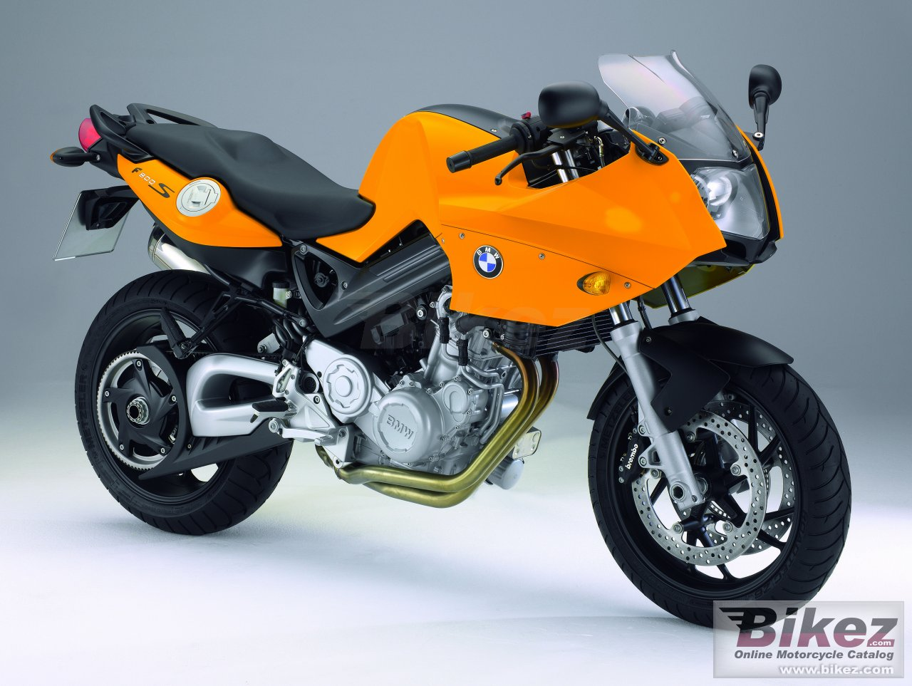 Big BMW f800s picture and wallpaper from Bikez.com