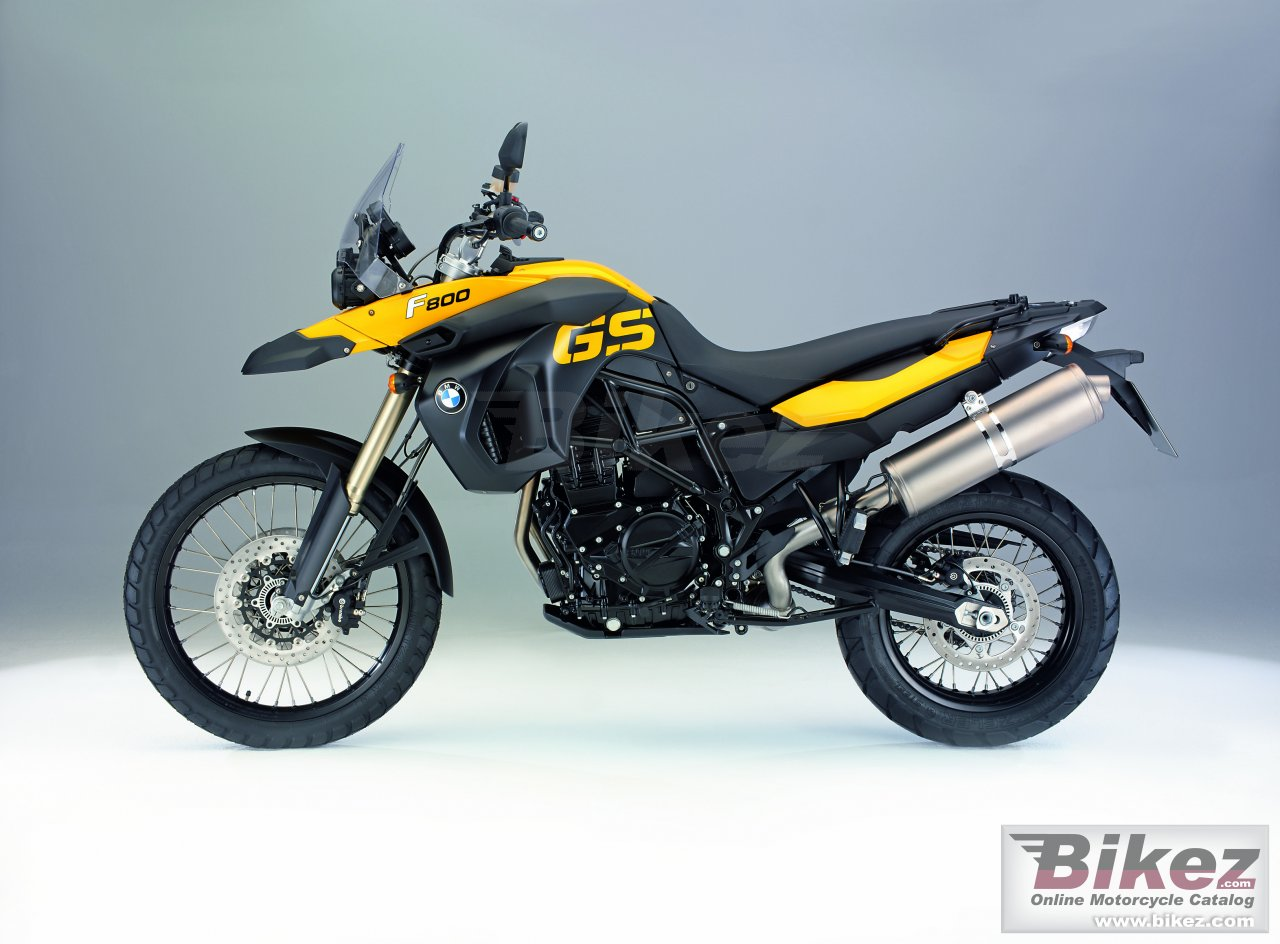 Big BMW f 800 gs picture and wallpaper from Bikez.com