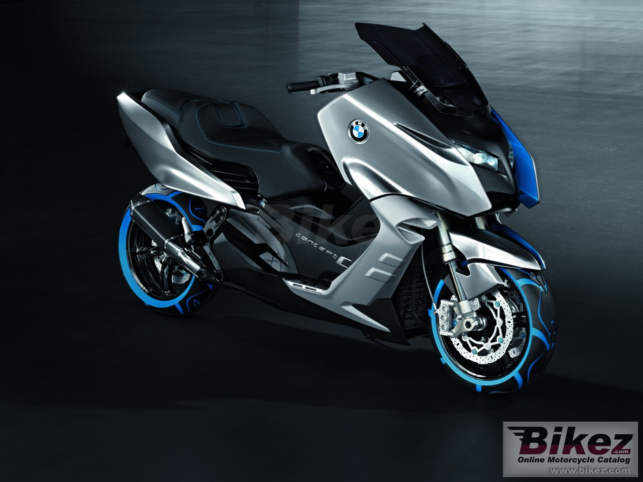 Big BMW concept c picture and wallpaper from Bikez.com