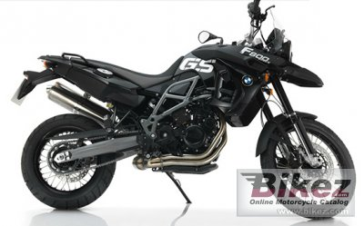 2012 BMW F 800 GS Triple Black photo