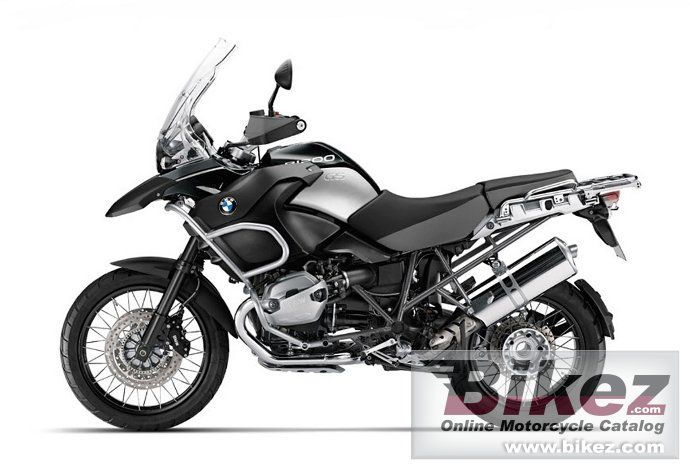 Big BMW r 1200 gs adventure triple black picture and wallpaper from Bikez.com