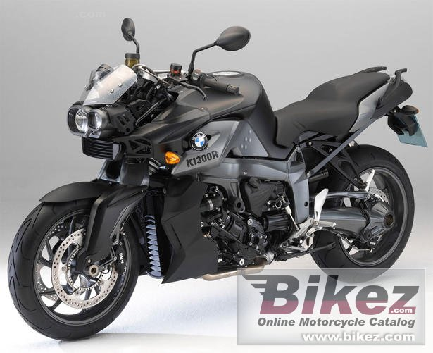 Big BMW k 1300 r dynamic picture and wallpaper from Bikez.com