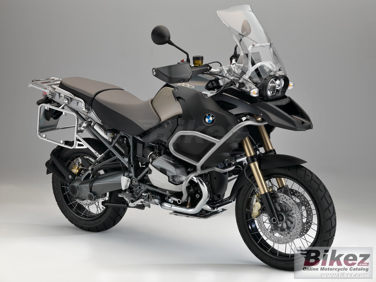 Big BMW r 1200 gs adventure picture and wallpaper from Bikez.com