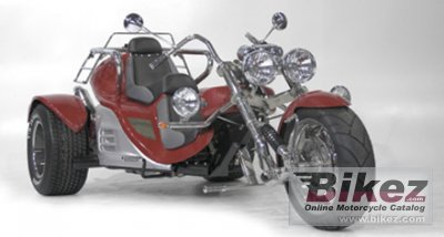 Automatic Motorcycle Trike 2009 Boom Trikes v2 Automatic