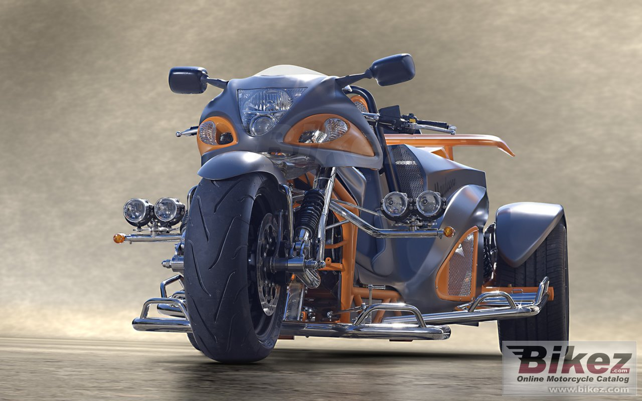 Big Boom Trikes hayabusa trike picture and wallpaper from Bikez.com