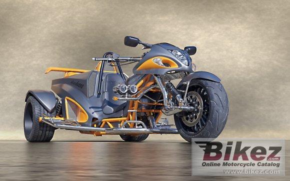 2012 Boom Trikes Hayabusa Trike