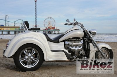 2017 Boss Hoss BHC-9 Coupe Trike