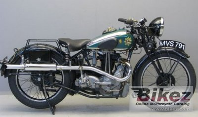 1937 BSA Empire Star