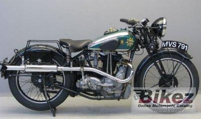 1938 BSA Empire Star