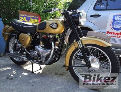 1955 BSA Golden Flash