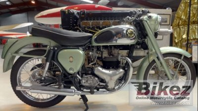 1956 BSA A7 Shoting Star