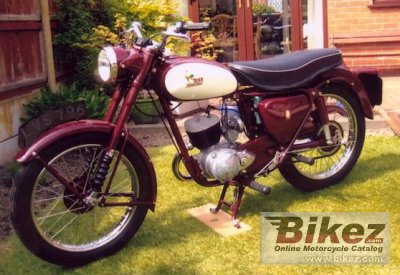 1958 BSA Bantam D5 Super