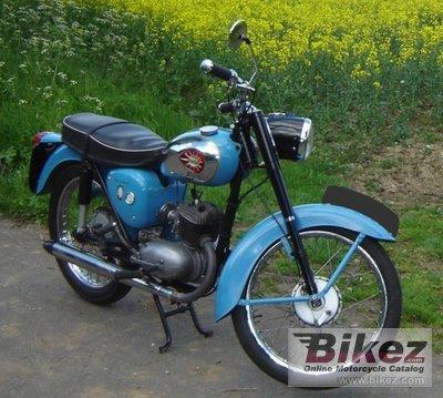 1959 BSA Bantam D7