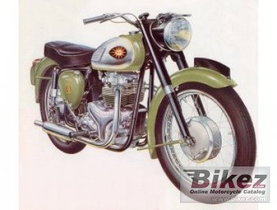 1960 BSA A7 Shoting Star