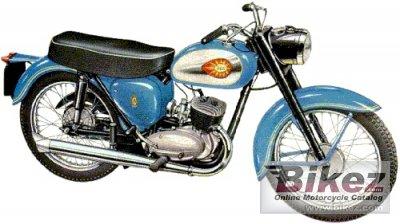 1963 BSA Bantam D7