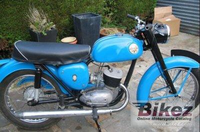 1966 BSA Bantam D7