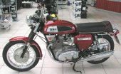1970 BSA A 75 Rocket 3 photo