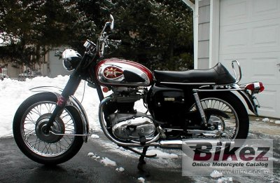 1970 BSA A 65 Thunderbolt photo