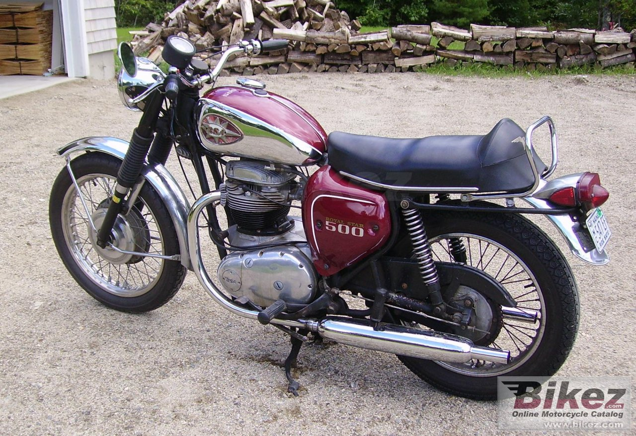 BSA A 50 Royal Star