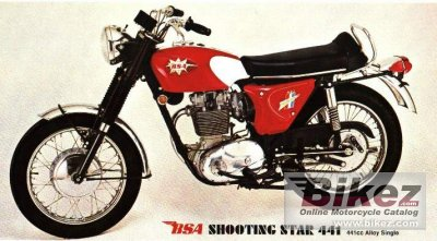 1970 BSA B 44 Shooting Star photo
