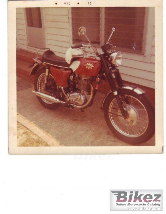 1970 BSA B 44 Shooting Star