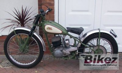 1970 BSA B 25 Star photo